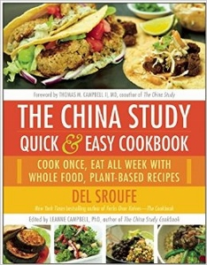 China Study Quick & Easy Cookbook by Del Sroufe ed LeAnne Campbell