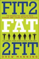Fit2Fat2Fit - diet book by Drew Manning