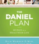 The Daniel Plan diet book by Rick Warren, Daniel Amen MD, and Mark Hyman MD